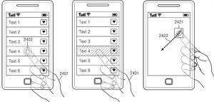Samsung trabaja en teléfonos con pantalla transparente, sugiere patente