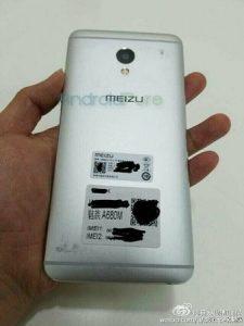 Misterioso teléfono inteligente Meizu detectado;  Podría lanzarse como Meizu M1E
