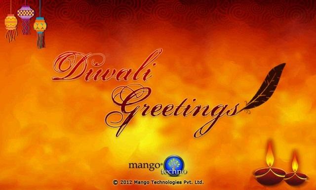 saludos de diwali