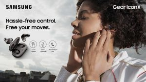 Auriculares inalámbricos Samsung Gear IconX (2018) lanzados en India