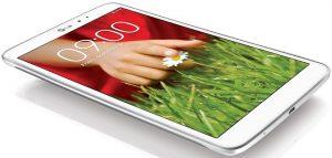 LG G Pad con pantalla de 8.3 pulgadas anunciado