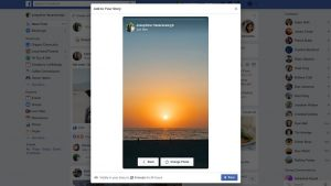 Facebook pronto podría permitirle crear y cargar historias desde el escritorio