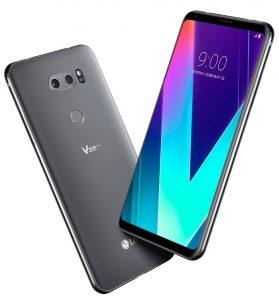 LG V30S ThinQ con funciones de inteligencia artificial presentadas en MWC 2018