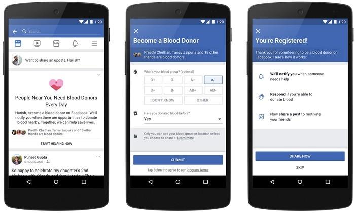 Facebook-función-de-donación-de-sangre-india-2