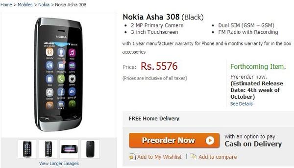 Nokia-Asha-308-Flipkart