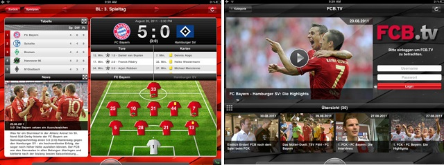 Aplicación Bayern-Munich
