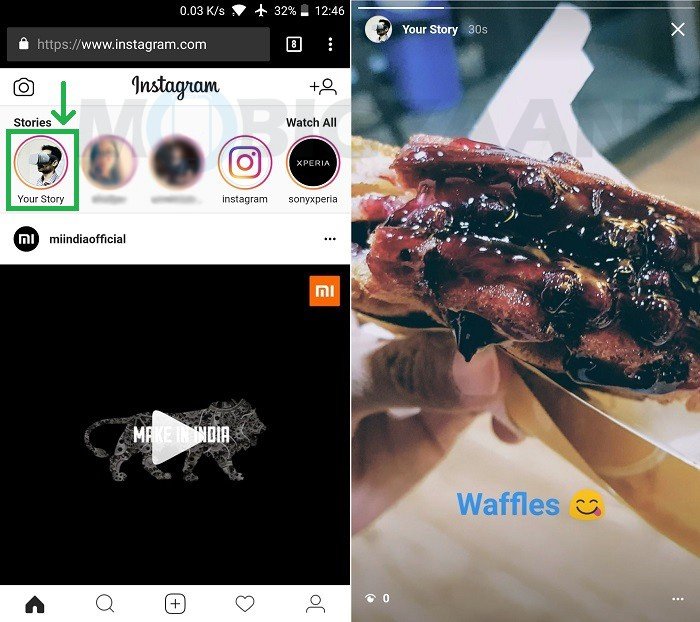 cómo-publicar-historia-de-instagram-navegador-web-móvil-android-5