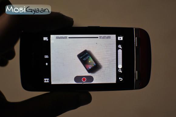 aplicación de cámara