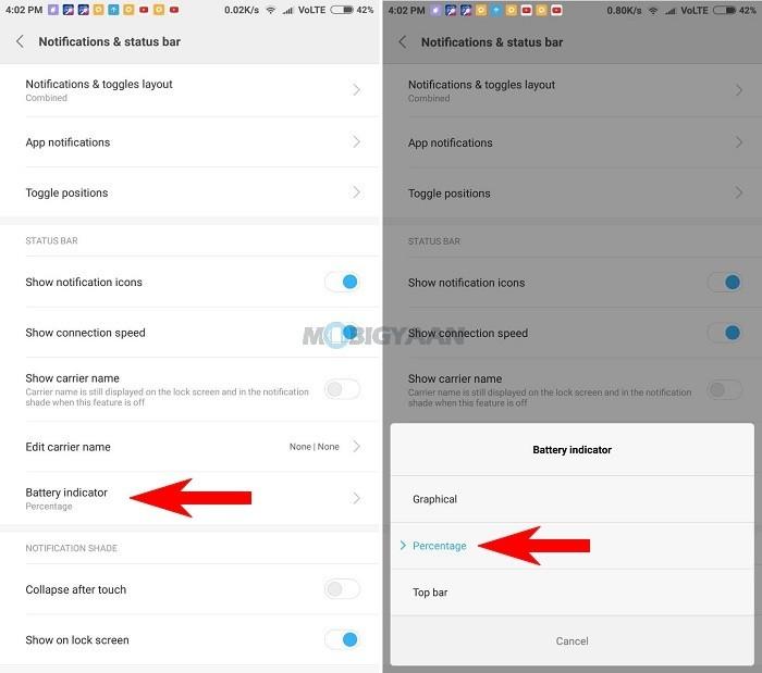 Cómo-mostrar-el-porcentaje-de-batería-de-velocidad-de-red-en-Xiaomi-Mi-Max-2-Guide-1