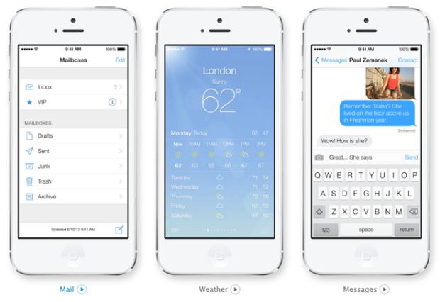Diseño Apple-iOS-7