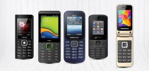 5 teléfonos móviles que puedes conseguir por menos de ₹ 1000