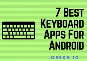Las 7 mejores aplicaciones de teclado para Android 2018