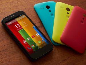 Moto G es el teléfono inteligente más vendido de Motorola