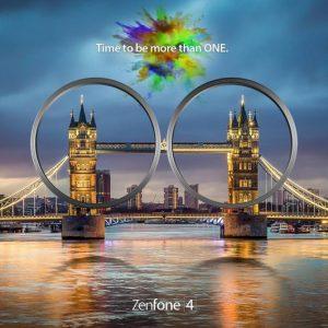 ASUS envía invitaciones para un evento ZenFone 4 el 19 de agosto