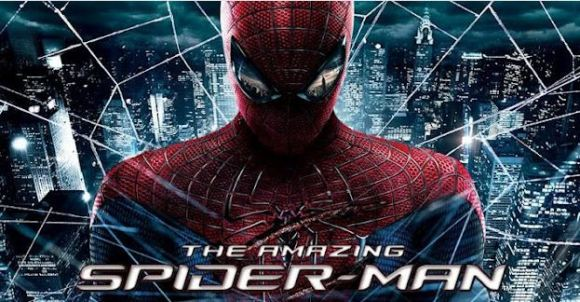 Acción de lanzar la telaraña en su dispositivo Android e iOS con el juego Amazing Spiderman
