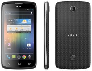 Acer Liquid C1 - Se anuncia un teléfono inteligente de 4,3 pulgadas con procesador Intel Atom Lexington de 1,2 GHz
