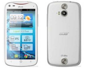 Acer Liquid E2 lanzado con procesador de cuatro núcleos
