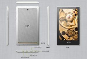 Acer Tab 7 lanzado en China, es una tableta Android de $ 99