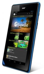 Acer prepara tabletas económicas de cuatro núcleos de 8 y 10 pulgadas