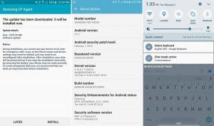 Actualización beta de Android Marshmallow que se implementará en Galaxy Note5 en los EE. UU.
