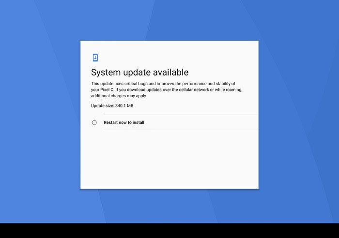 android-7-1-2-turrón-actualización-pixel-c