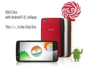 Actualización de Android Lollipop lanzada para XOLO One