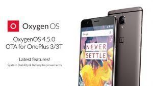 Actualización de OxygenOS 4.5.0 que se implementa en OnePlus 3 y 3T con Gaming DND, Scheduled Night Mode y más
