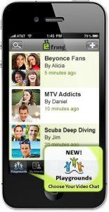 Ahora cree grupos de video chat en vivo con Playgrounds en Fring