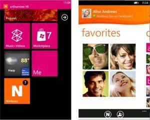 Ahora descargue Nimbuzz para dispositivos Windows Phone 8