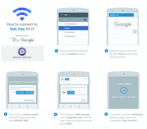 Ahora disfruta de Wi-Fi gratis en Mumbai Central, cortesía de RailTel y Google