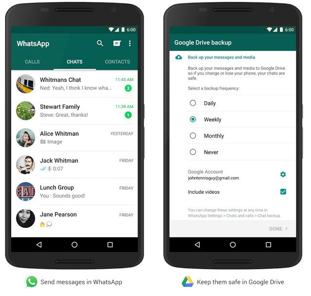 Ahora-copia de seguridad-mensajes-de-WhatsApp-mensajes-fotos-y-videos-en-Google-Drive