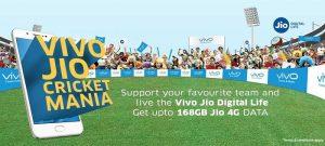 Ahora obtenga hasta 168 GB de datos gratis de Jio apoyando a su equipo de IPL favorito