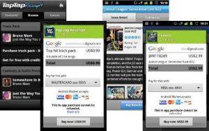 Ahora pruebe y compre en Android Market, cortesía de facturación integrada en la aplicación