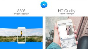 Ahora puede compartir fotos de 360 grados y videos de calidad HD en Facebook Messenger