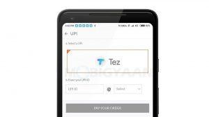 Ahora puede realizar pagos a través de Google Tez en Mi.com y la aplicación Mi Store en India