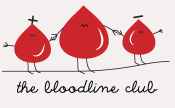 Logotipo del club de la línea de sangre