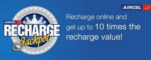 Aircel presenta el concurso 'Recharge Jackpot' que ofrece 10 veces el valor de recarga a los ganadores