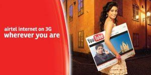 Airtel recorta la tarifa 3G, presenta nuevos planes 3G