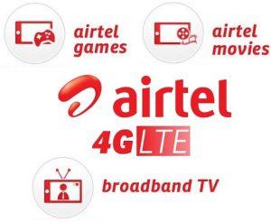 Airtel Broadband TV and Games On-Demand VAS lanzado para clientes 4G, prueba gratuita disponible