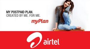 Airtel My Plan - Diseña tus propios planes pospago