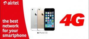 Airtel comienza a ofrecer servicios 4G a tarifas 3G en Bangalore para usuarios de iPhone 5s y 5c