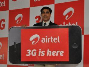 Airtel lanza servicios 3G en Madhya Pradesh y Chhattisgarh