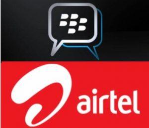 Airtel ofrece un servicio BBM ilimitado a Rs.  129 a sus usuarios de Postpago