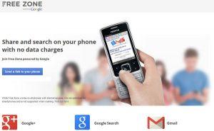 Airtel y Google anuncian Free Zone en India