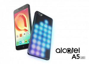 Alcatel A5 LED con pantalla HD de 5,2 pulgadas y LED en el panel posterior presentado