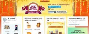 Amazon Great Indian Festival Sale 2020: aquí están las mejores ofertas que no puede perderse