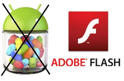 Android 4.1 Jelly no es compatible con Flash, confirma Adobe