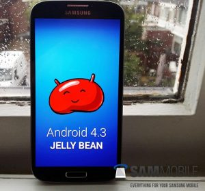 Android 4.3 filtrado para Samsung Galaxy S4;  filtrado en capturas de pantalla para Galaxy S3