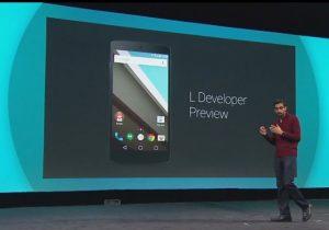 Android L Developer Preview anunciado como el lanzamiento más grande en la historia de Android