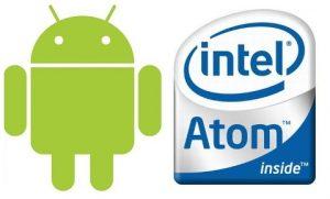 Android llegará a los procesadores Intel Atom